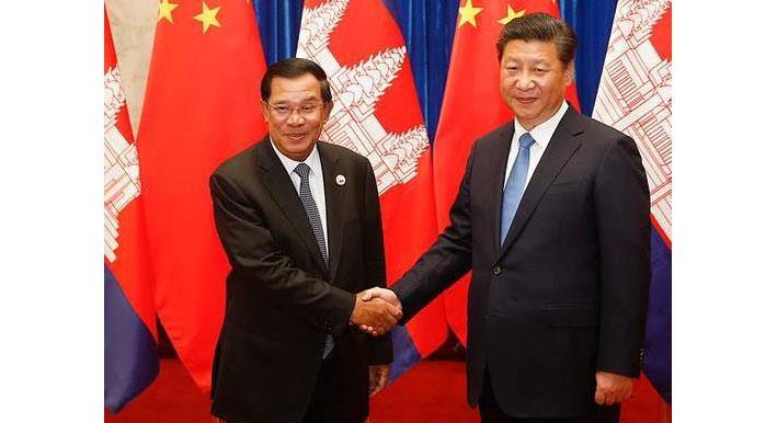 柬埔寨与中国的外交关系是怎样建立起来的图片